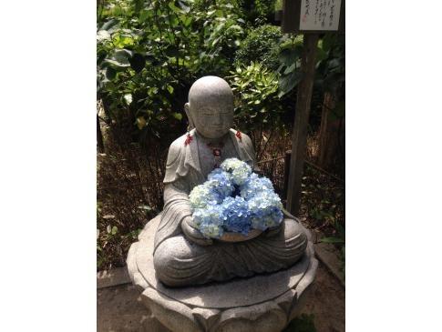 鎌倉 明月院のお地蔵さま