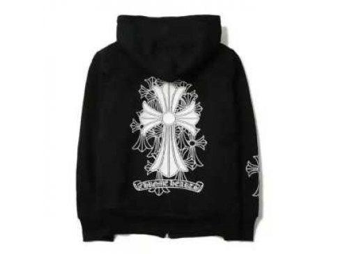 「クロムハーツ レザージャケット!CHROME HEARTSパーカー 男女兼用 最終お値下げ致しました!