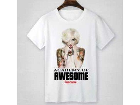 上品な輝きを放つ形 2016 シュプリーム SUPREME 半袖Tシャツ 男女兼用 4色可選