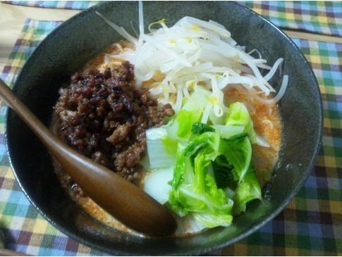 豆乳坦坦麺