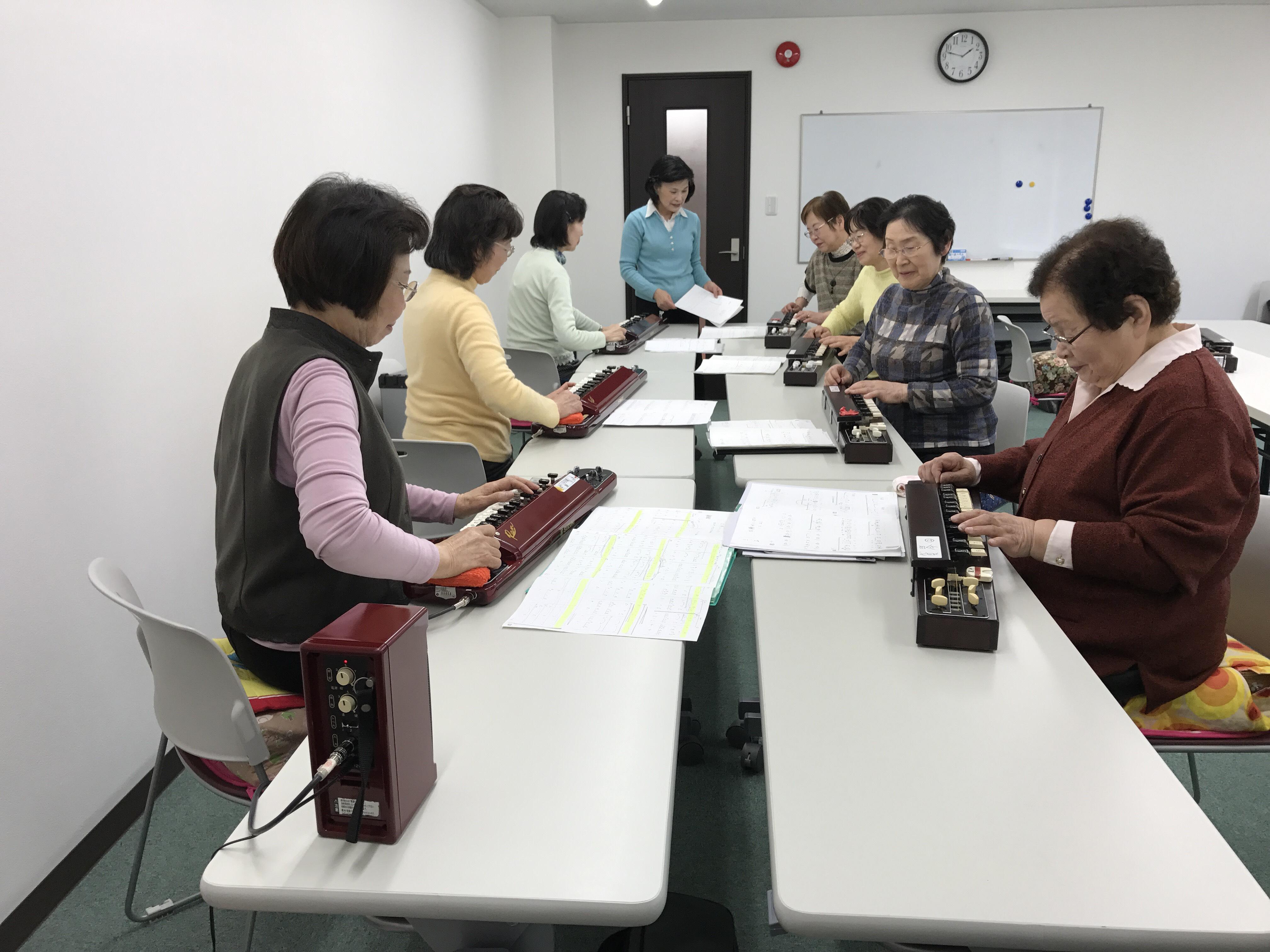 大正琴教室(ちいきカルチャー志津)
