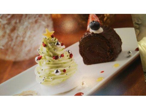 ツリーのプチケーキ