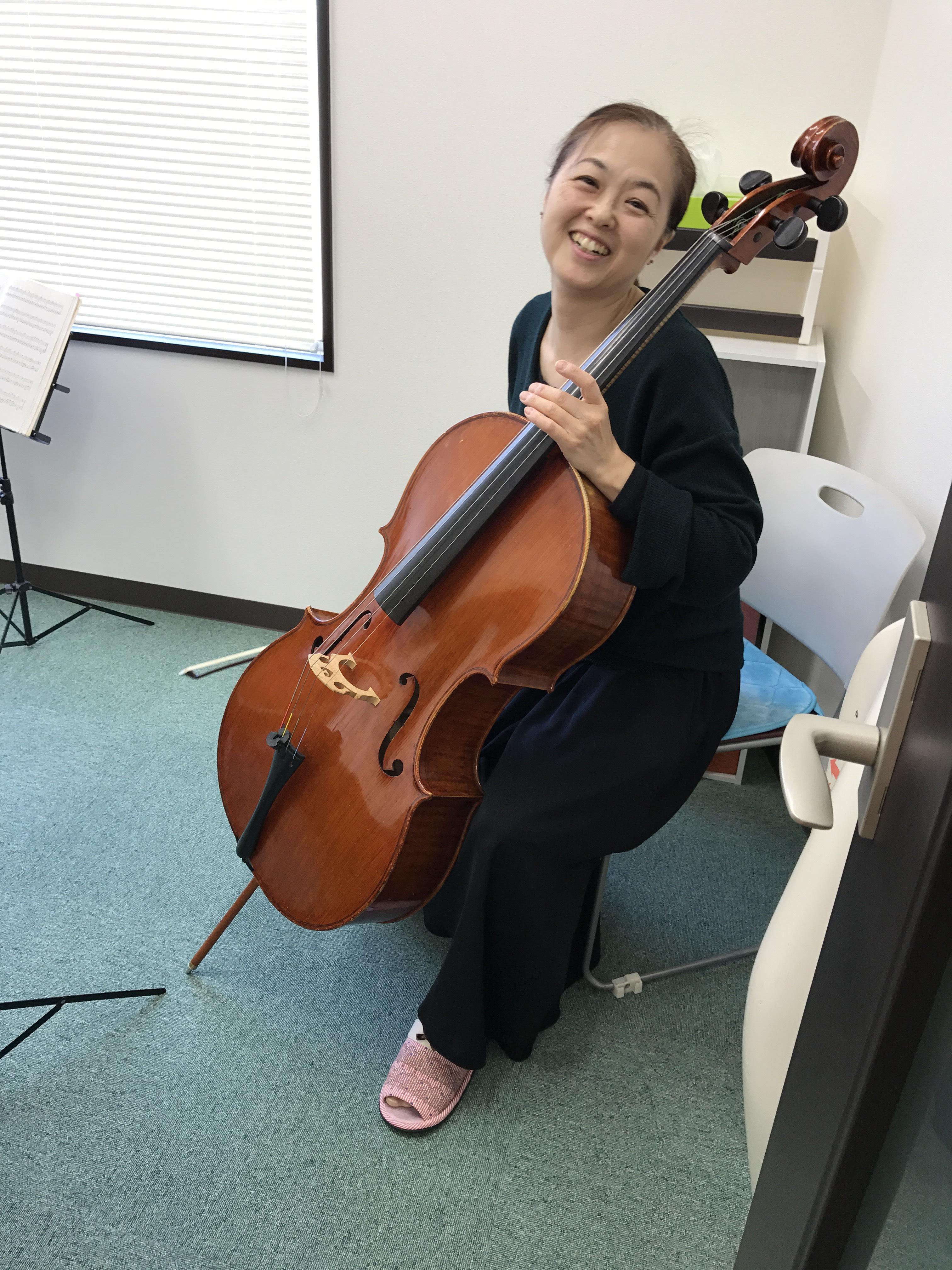 弦の響きを楽しむ初めてのチェロ (ちいきカルチャー志津教室)