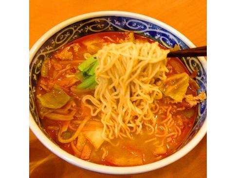 夜食にマルちゃん正麺アレンジ