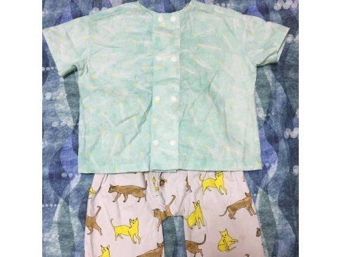 マッチ棒シャツ&猫パンツ