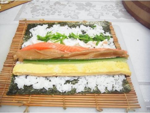 手作り手巻き寿司