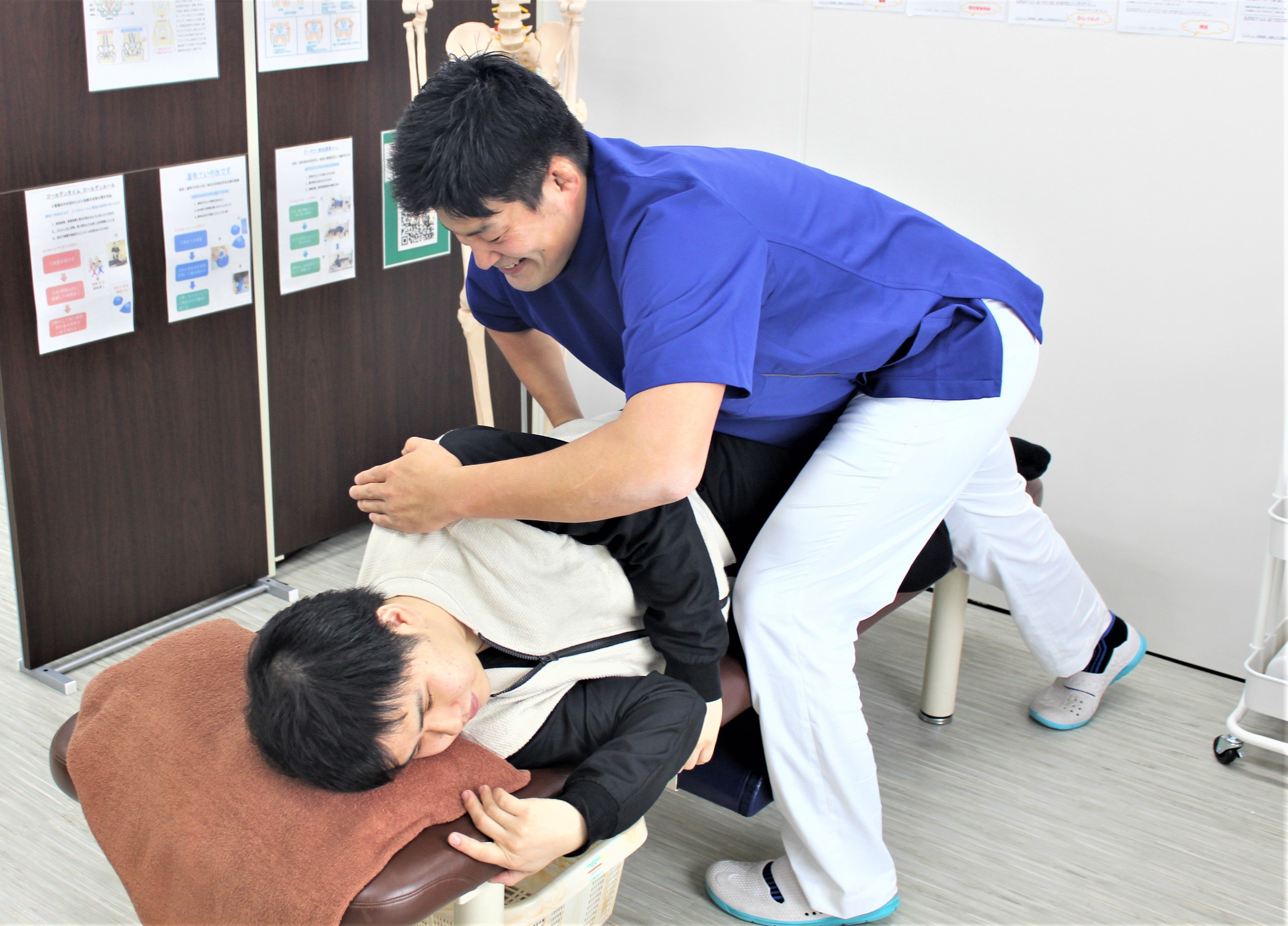 腰痛・猫背矯正専門の蘇我東口整体院