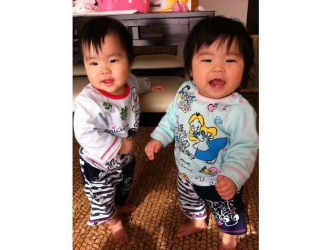 2012年生まれの双子です!
